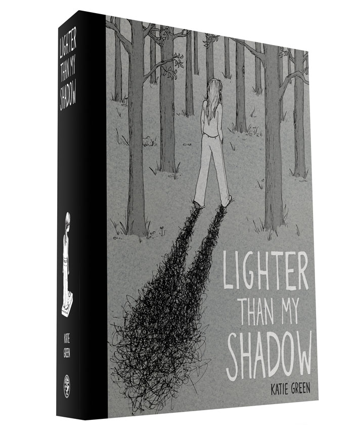 Lighter Than My Shadow cover mockup