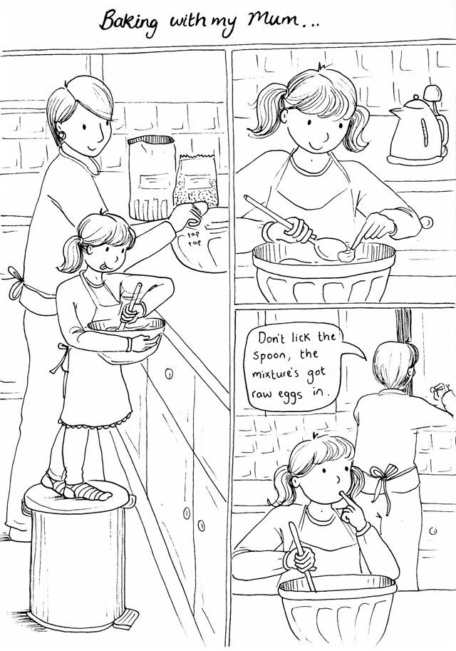 Baking with my Mum