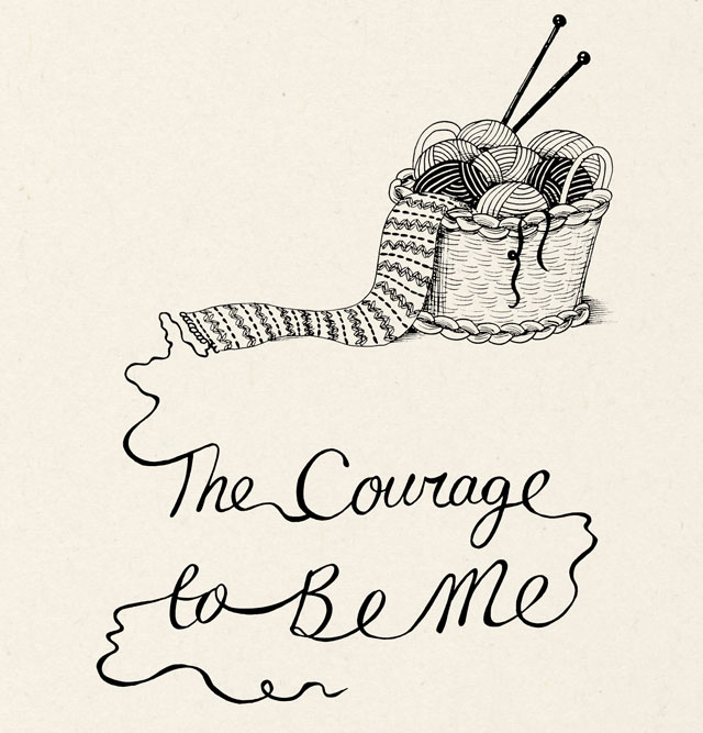 The Courage To Be Me Katie Green Title Page