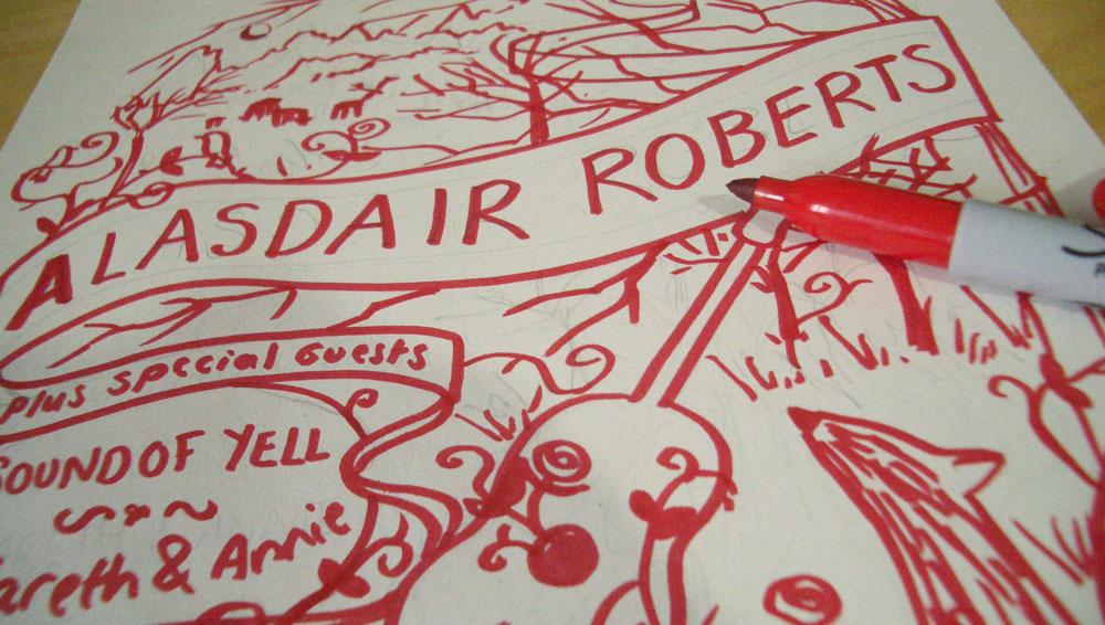 Alasdair Poster Process 1