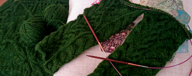 Jumper In Progress