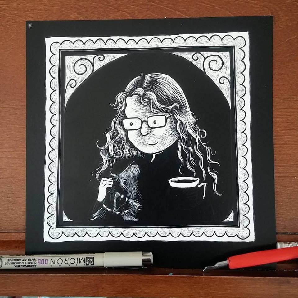 self portrait 2015 progress
