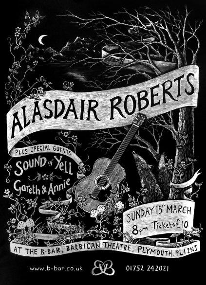 Alasdair Roberts Poster